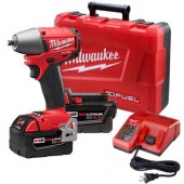 "Milwaukee 5.0 M18 FUEL™ 3/8"" Compact Impact Wrench"