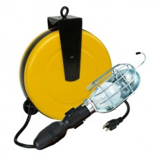50-Foot Pro Line Retractable Trouble Light