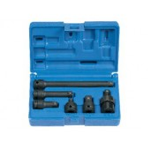 3/8-Inch 6PC Adapter -  Extension Set Grey Pneumatic