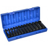"Grey Pneumatic 3/8"" MM Reguar Deep Socket Set 1226M"