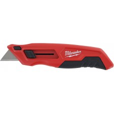 Milwaukee 48-22-1510 Slide Open Utility Knife with Tool-Less Blade Changing and Blade Storage
