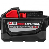 Milwaukee 9.0 Red Lithium High Demand 18 Volt Battery Pack  M18XC