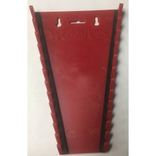 12PC MAG RED REG WRENCH RACK