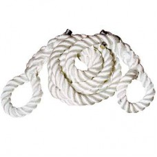 1-1/2-Inch X 25-Feet Nylon Tow Rope with Loops