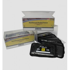 BX 10 LG CORD PATCHES 3 3/16-Inch x 5-Inch  2 Ply Reinforced Radial Repair