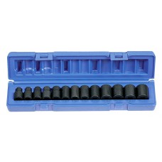 3/8 MM REG/IMP GREY SOCKET SET