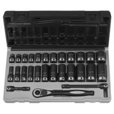 3/8 6PT SAE GP DUO-SOCKET SET