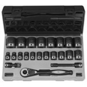 1/2 6PT SAE SHALLOW GP DUO-SOCKET SET