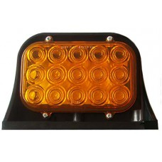JAMMY LED 4/WIRE AMBER SINGLE LAMP