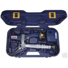12 Volt With 2 BATTERIES LINCOLN CORDLESS GREASE GUN
