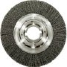 10-Inch Medium Face Crimped Wire Wheel, .014-Inch Steel Fill, 2-Inch Arbor Hole