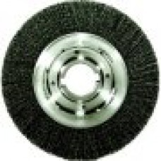 12-Inch Medium Face Crimped Wire Wheel, .014-Inch Steel Fill, 2-Inch Arbor Hole