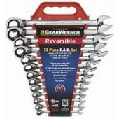 GEAR WRENCH 13 PC SAE REVERSIBLE KD